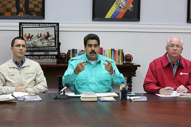 Nicolás Maduro este miércoles. Foto: @DRodriguezMinci