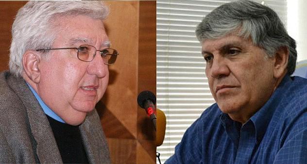 Fernando Gerbasi (izq.) e Iván Carratú Molina