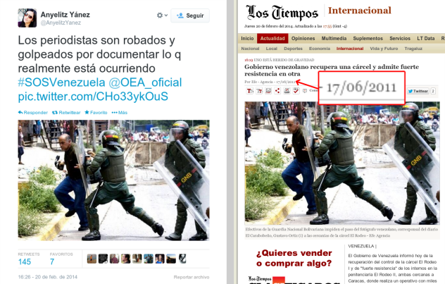 periodistas robados