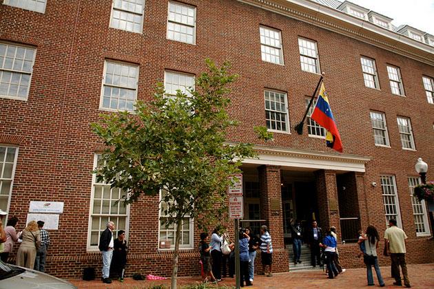 Embajada venezolana en Washington (Foto: Agencias)