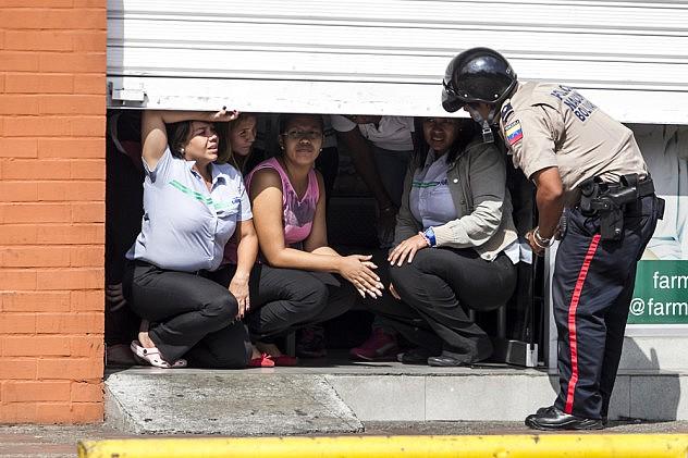 DOS MUERTOS M¡S EN INCIDENTES POR PROTESTAS EN EL ESTE DE CARACAS