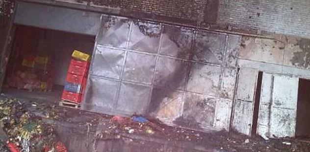 Almacén destrozado en Venezuela. / Felix Osorio (@FelixOsorioG)