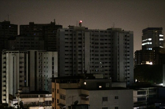 Bello Monte a oscuras (Foto: Redes Sociales)