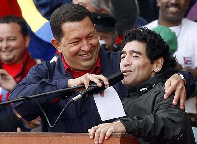 Maradona, gran amigo de la Revolución Bolivariana