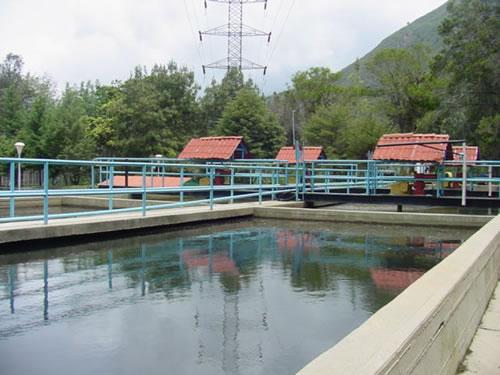 Planta de aguas de Mérida