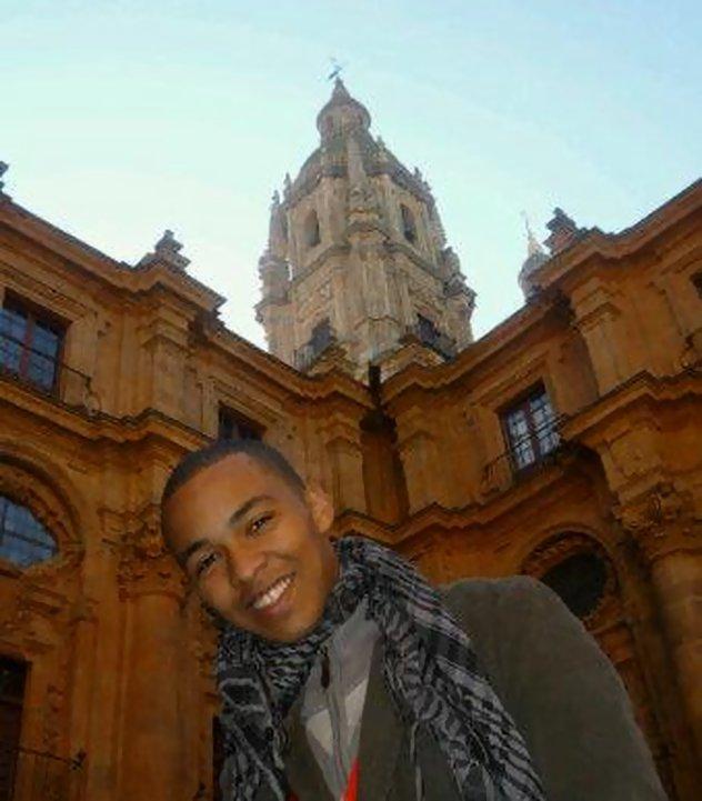 En Salamanca, España