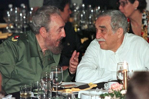 Fidel y el Gabo (Archivo/AFP)