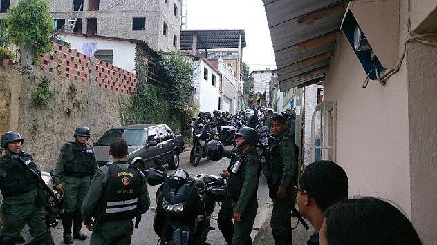 Hechos en el barrio El Güire. Foto: Horacio Siciliano