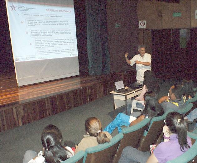 Martín Villarroel en una conferencia en el MPP para la Energía Eléctrica (Archivo)