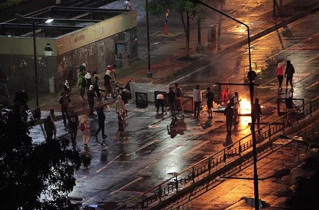 Hechos en la cercanía del Ministerio de Turismo. Foto: @IzarraDeVerdad