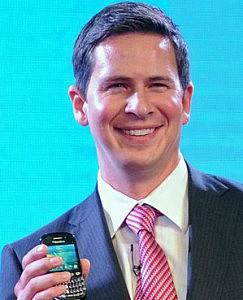 """Patrick Spence, director regional de RIM  (Blackberry) en 2011: """"Estamos cooperando  con el Ministerio del Interior de Reino Unido"""""""