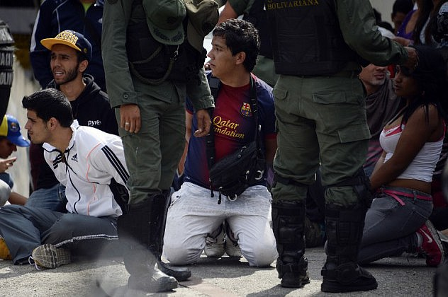 VENEZUELA-PROTEST-POLITICS