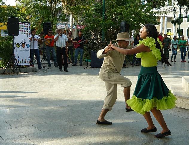 Agrupaciòn de baile Yercy Colmenares