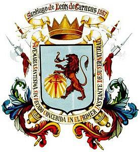 Escudo de Venezuela - Capitanía General de Venezuela 1777 - 1819