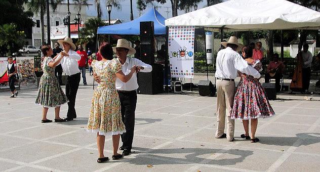 F1- El joropo tomó la plaza Bolívar de San Felipe