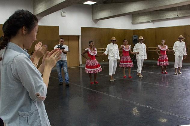 encuentro cultural venezuela china  BAJA-13