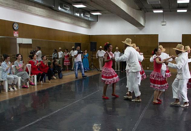 encuentro cultural venezuela china  BAJA-8