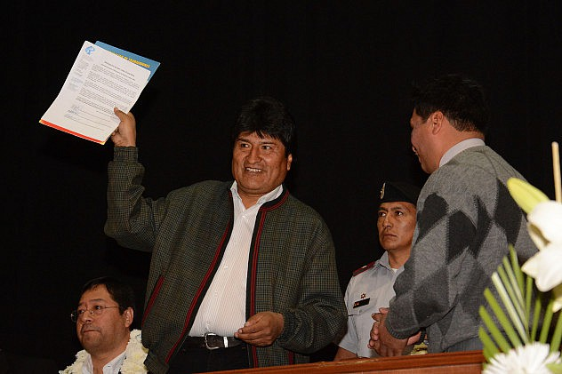 Foto: Prensa Presidencial de Bolivia