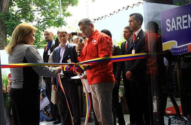 El ministro Rodríguez Torres dio sus declaraciones durante la inauguración del Registro Mercantil Quinto  del estado Miranda