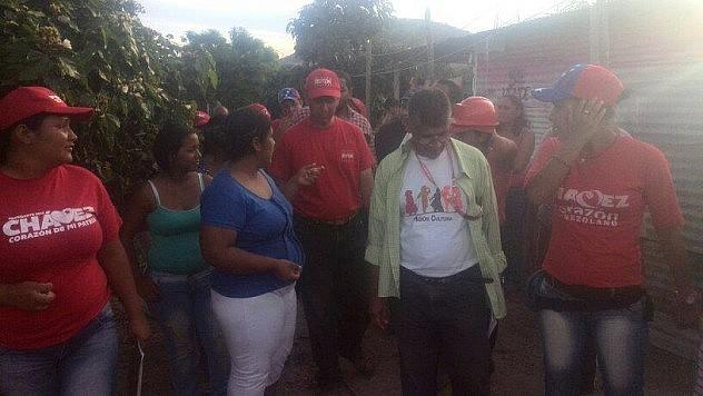 Casa por casa en la comunidad de La Victoria en Barquisimeto