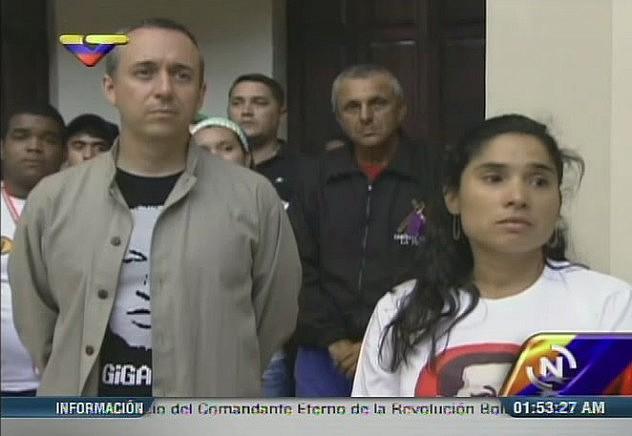 Ministros Fidel Barbarito e Isis Ochoa