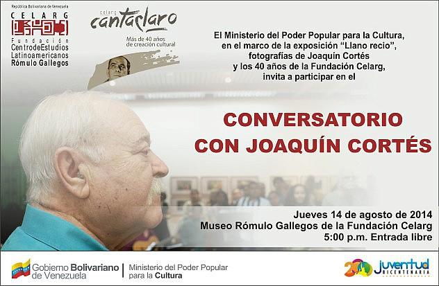 13 agosto Conversatorio Joaquin Cortes_