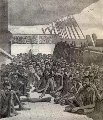 Las primeras formas de Fandango surgen cuando  los africanos son secuestrados y traídos como esclavos a América
