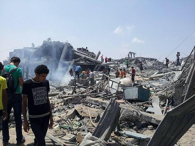 Otra mesquita destruida, Imam Al-Shafie. Foto: @mzeyara