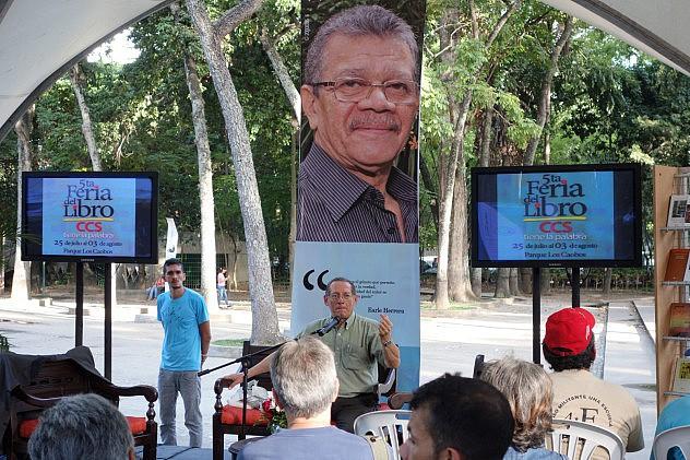 """El recital se realizará en el espacio """"Earle Herrera"""" al lado de la fuente del Parque Los Caobos (Archivo)"""