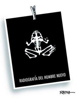 CARICATURA DE RAYMA. RADIOGRAFIA DE UN HOMBRE NUEVO
