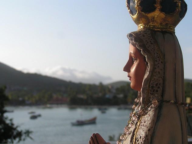 La Virgen del Valle en Pampatar. Foto: Juan Carlos Trujillo M. vía nuestramirada.org