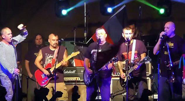 Ska-P y Banda Bassotti en concierto el pasado 12 de septiembre. Foto: Mauro Della Prugna