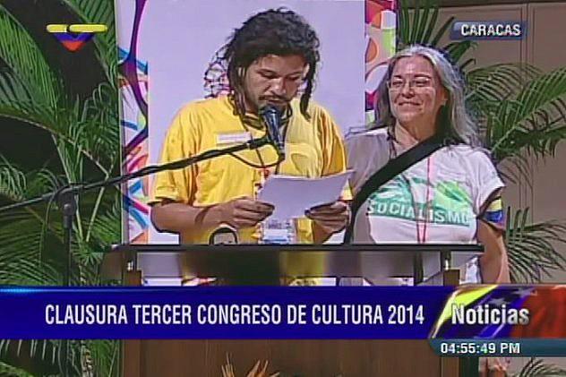 Las propuestas fueron leídas por Miguel Angel Díaz y Leonor Fuguet