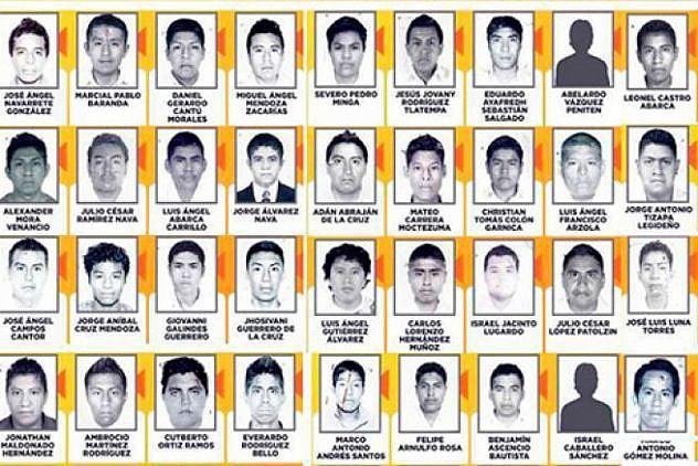Estudiantes desaparecidos en Iguala (Foto: Archivo)
