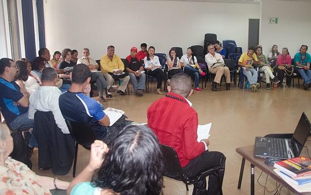 primera reunión de seguimiento del III Congreso Nacional de Cultura 11 de octubre de 2014-12