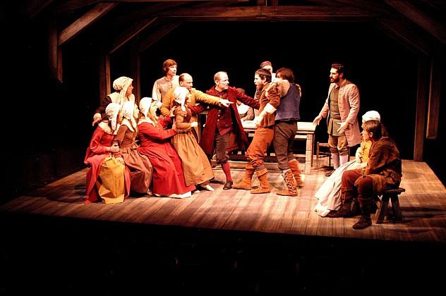 "Interpretación de ""The Crucible"" por Arthur Miller, hecha por The Arclight Theatre en 2008.  Fotos de Ron Marotta"