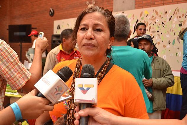 F4- Flor Tinjacá, vocera del estado_Yaracuy