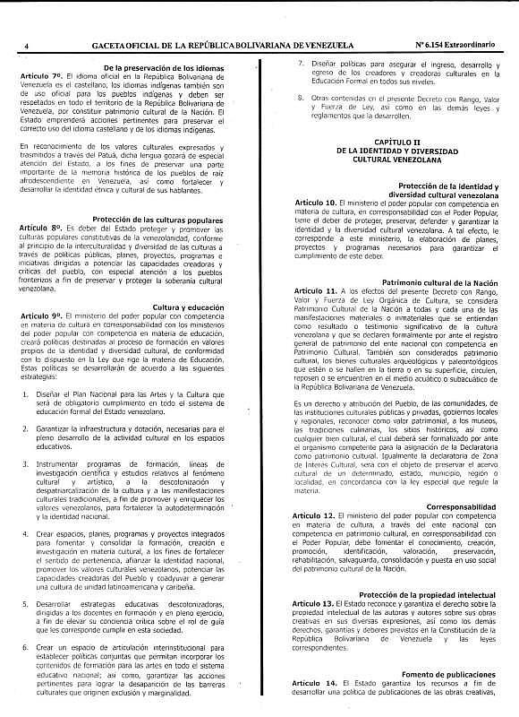 Gaceta Oficial Extraordinaria Nº 6.154 LOC-4_4