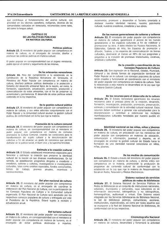 Gaceta Oficial Extraordinaria Nº 6.154 LOC-5_5
