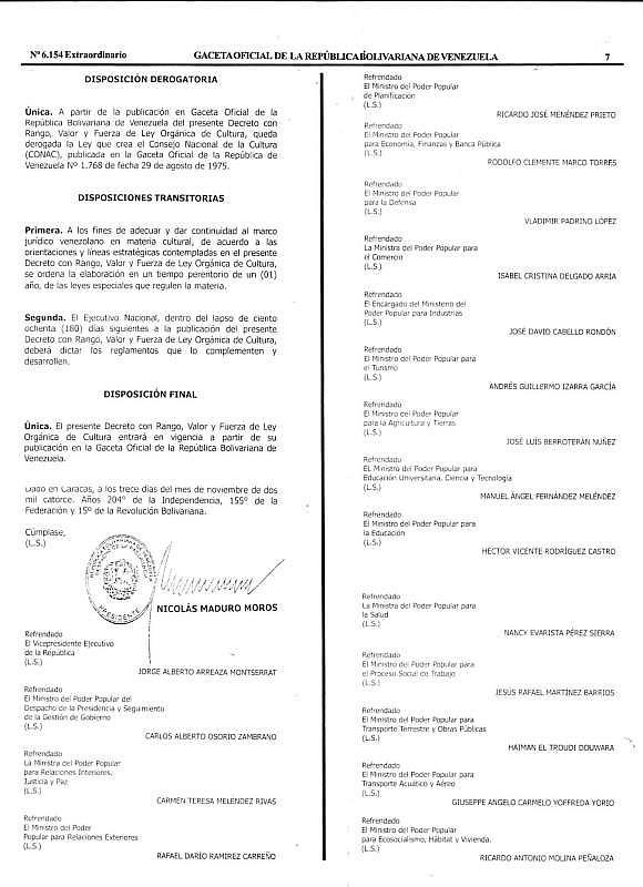 Gaceta Oficial Extraordinaria Nº 6.154 LOC-7_7