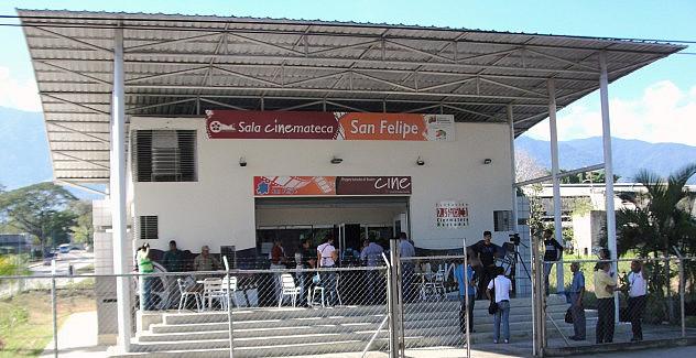 F1- La Cinemateca de San Felipe fue el escenario para el estreno del