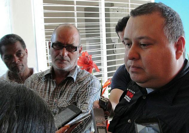 F2- el realizador del documental, Carlos Brito, asistió