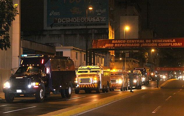 Repatriación de las reservas de oro venezolanas en enero de 2012. Foto: AVN