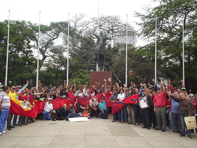 Una Bandera Un Solo Corazón Unió a tachirenses en defensa de la soberanía nacional(1)