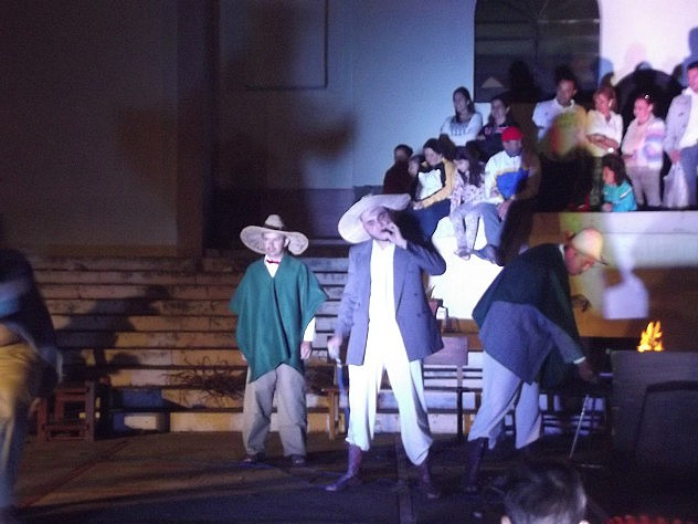 La Misión cultura Corazón Adentro recreó vida y obra de Cipriano Castro
