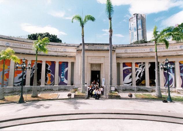 Fachada del Museo de Ciencias en caracas (Archivo)