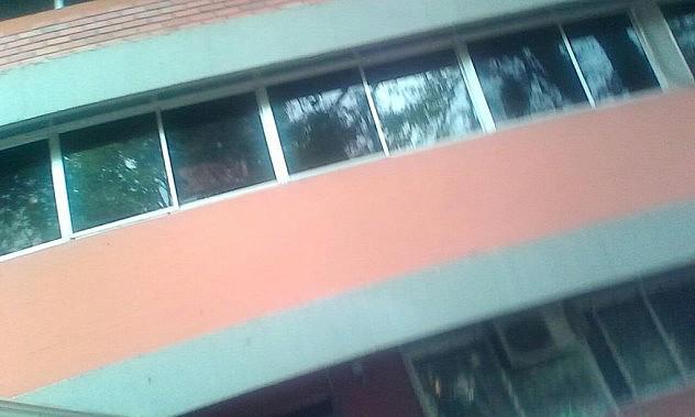Vidrios destrozados. Foto: @UBV_Tachira