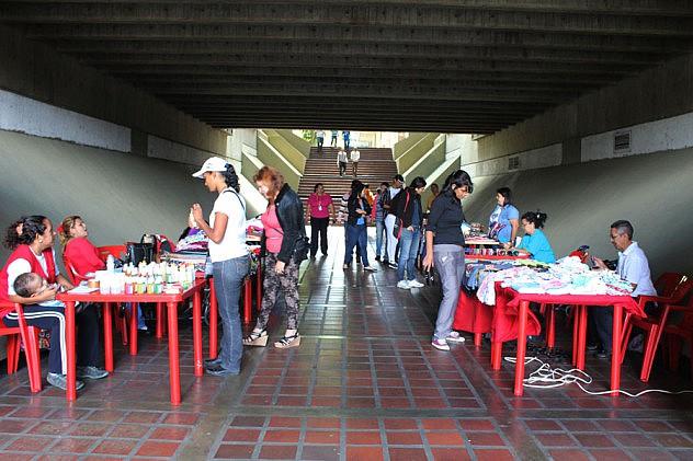 Feria en el Foro Libertador 1