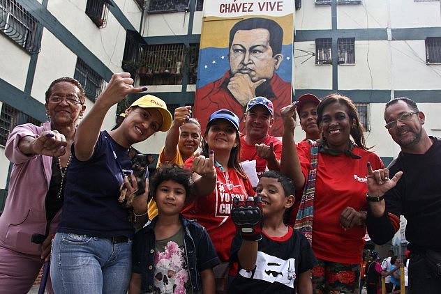 Votaciones Internas PSUV 28.06.15 Milangela Galea