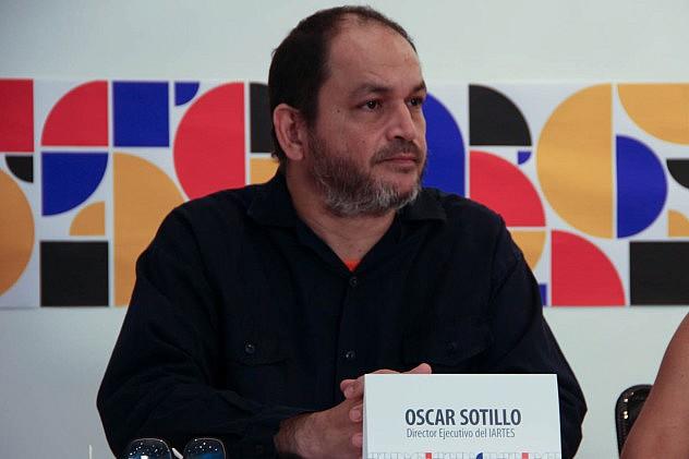 I Bienal del Sur. Oscar Sotillo Foto: Milangela Galea